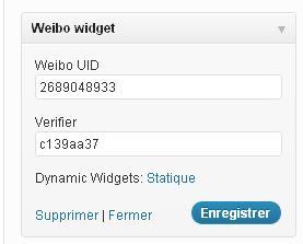 Create wordpress custom widget